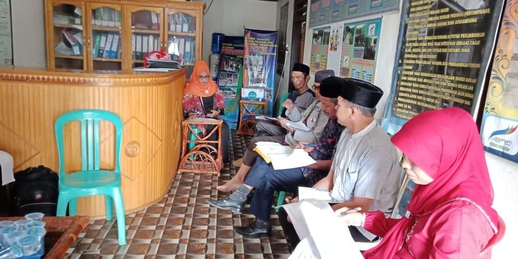 Rapat penetapan perguliran Dana SPP Tahap I tahum 2019