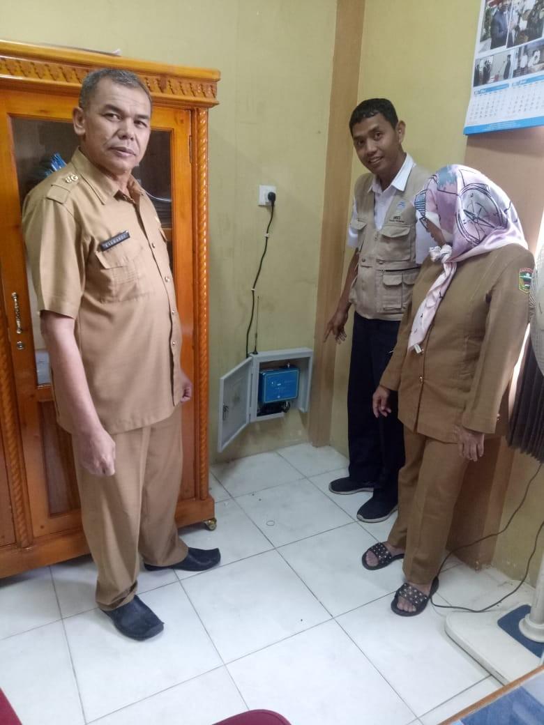 BMKG Sumatera Barat Pasang Alat Pendeteksi Gempa