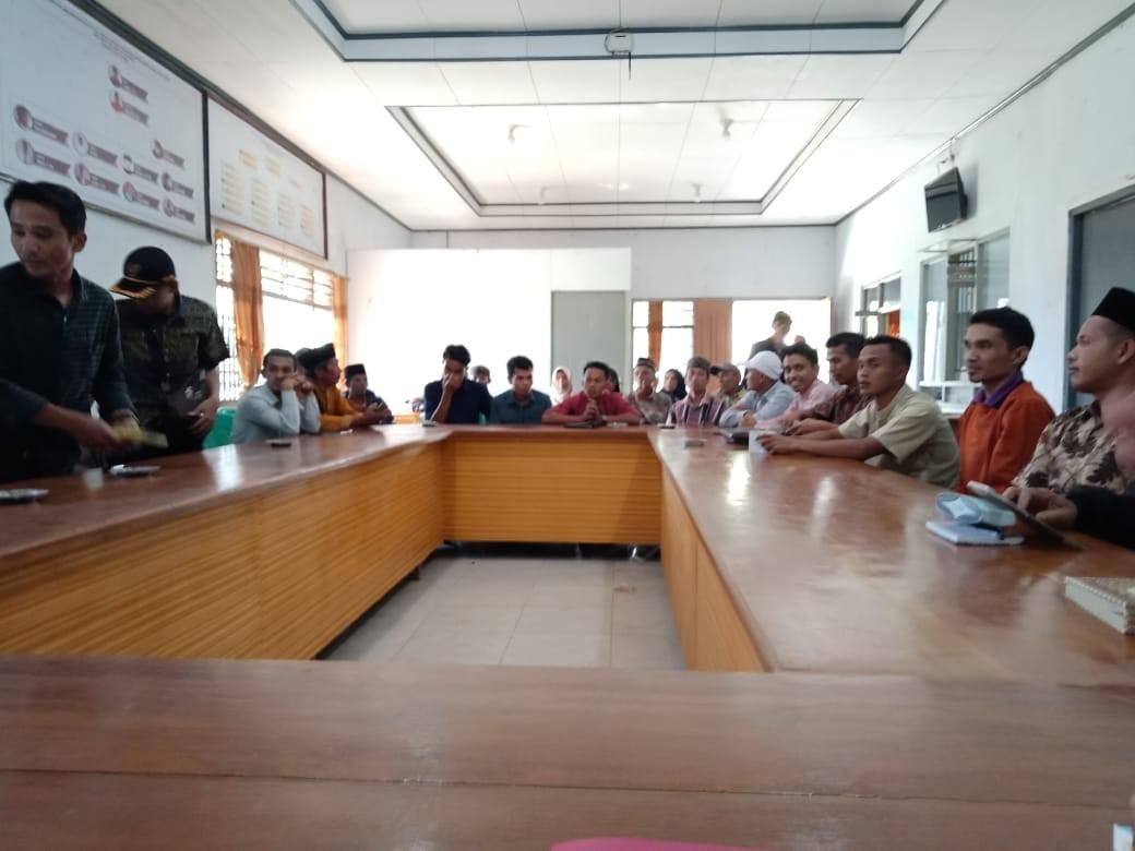 Rapat Pembentukan Panitia Pelaksana MTQ ke 39  Tingkat Kecamatan  Pantai Cermin