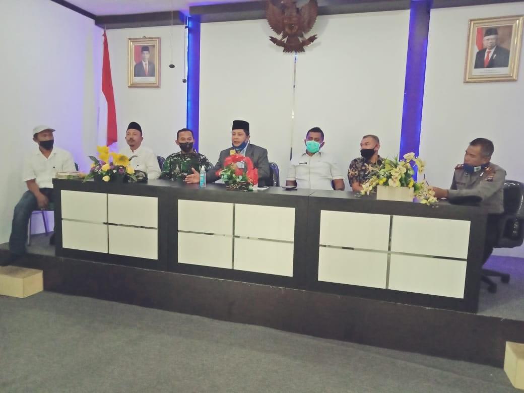 Pertemuan khusus  Gugus Tugas Covid 19 dengan Wabup Kab Solok