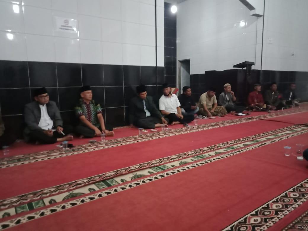 Musyawarah Pembentukan Pengurus Kampung Tangguh Jorong Belakang Pasa