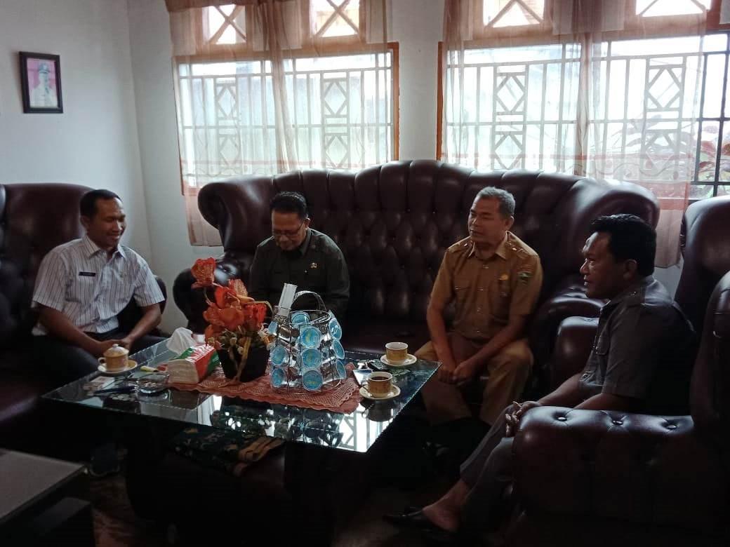 Musyawarah dan Silaturahmi  Ka.MTsN 5 Solok